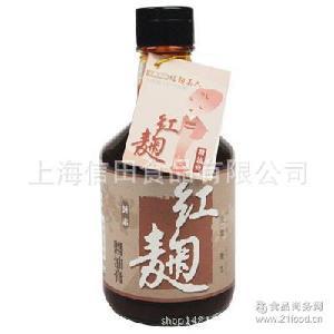 台湾菇王红曲酱油膏300ml 瓶*12瓶 箱(全素)