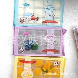 20盒/件 榴莲百香果 多种口味果肉果冻480g 越南进口果冻