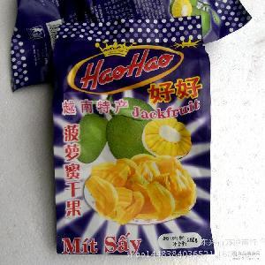 休閑零食特產好好菠蘿果干200g 進口食品 25包1箱 越南進口
