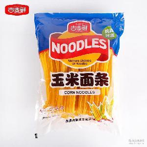精选玉米粉速食玉米面条650g厂家经销批发 麦吉鲜直销营养面条