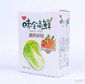味全高鲜味精 台湾进口调味品食品 500g*24盒整柜进货批发全果蔬