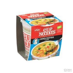 原裝進口休閑零食批發 美國nissin尼森方便面4種口味64g*12桶