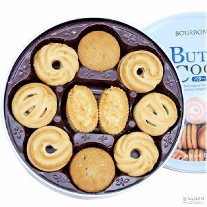 什锦奶油曲奇 60枚礼盒装 日本进口零食品 波路梦 黄油饼干
