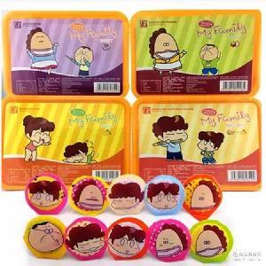 马来西亚进口食品 多口味果冻批发 大诚水果布丁420g*6盒/组