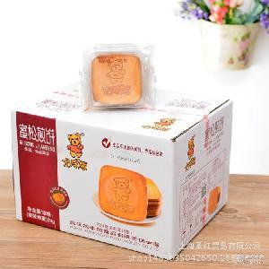 零食卡賓熊蜜松煎餅散裝稱重雞蛋煎餅休閑食品店網店熱賣整箱4斤