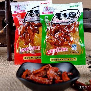 魚山魚海毛毛魚5斤/袋 休閑香辣QQ魚零食品批發 湖南特產小魚仔