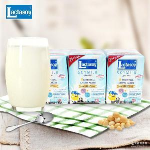 125ml*6休闲饮品 泰国进口饮料 力大狮原味巧克力味常温豆奶750ml