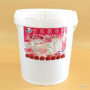 食用玫瑰花餡30斤桂花菊花茉莉鮮花醬云南特產中秋月餅餡料批發