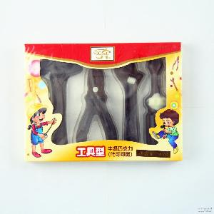 超市货源 儿童食品玩具 巧克力工具型42g帝诺 批发
