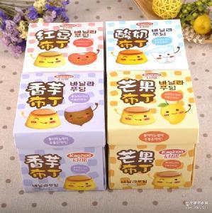熱銷香港卡其諾果凍360g*24盒/箱 休閑芒果酸奶布丁零食品批發