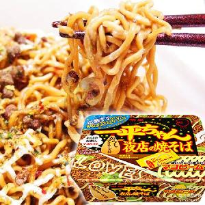 盒裝方便面 135g 夜店炒面 批發 速食拌面 日本進口食品 一平醬