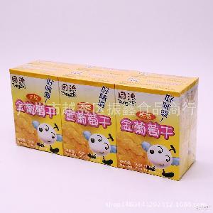 同治无核金葡萄干30g*6盒*30条/件 批发休闲零食
