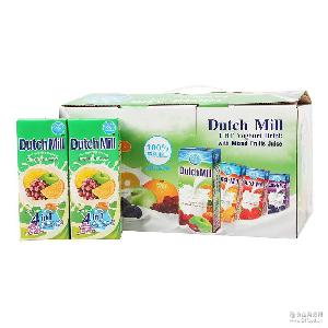 泰國進口酸奶批發 達美酸奶180ml*12/箱 混合味禮盒裝