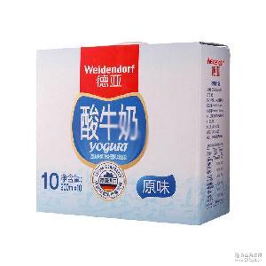 原味酸奶 Weidendorf德亞 200ml*10盒箱 德國進口酸奶