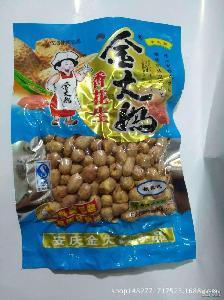 陜西西安批發 祖傳配方現代工藝香酥美味可口 金大媽 香花生米