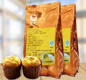 预拌粉 马卡龙月饼原料 面包 蛋糕 1kg*5 蓝黛南瓜味糕