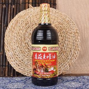 台湾调味品  纯素食 1000ml 正品特价 万家香香菇素蠔油
