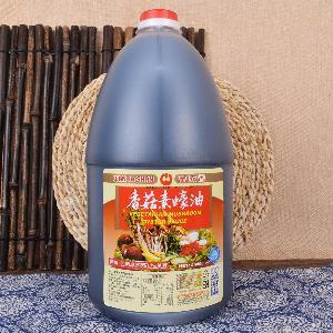 原装进口食品 台湾万家香香菇素蚝油4400g  纯酿造 纯素4.4L