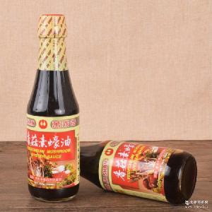 纯酿造 台湾万家香香菇素蚝油300ml 纯素健康 原装进口食品