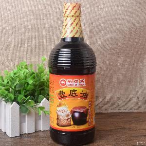 酱油中的 货  纯天然酿造 台湾原装进口万家香壶底油1000ml