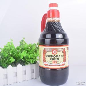 臺灣進口龜甲萬字醬油1600ml日式醬油純釀造醬油甘醇醬油老抽