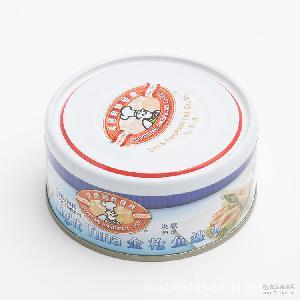 吞拿鱼沙拉寿司材料 170g每罐 美国厨师品牌油浸块状金枪鱼