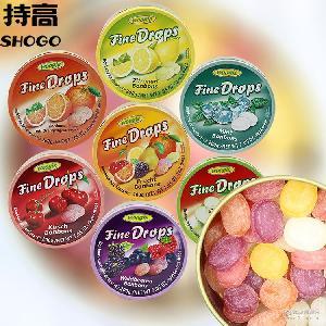 woogie君兹糖 综合水果糖200g 休闲水果硬糖批发 德国进口糖果