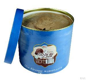 巧克力冰激凌3.5kg 伊利巧克力冰激凌3.5kg大桶裝