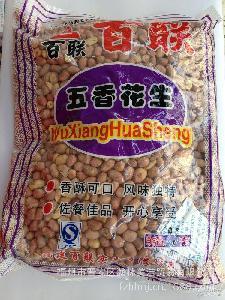 百聯花生2.5kg裝 福建特產 奶茶原料 燒仙草原料 五香花生