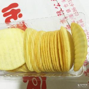 蘸醬薯片 1斤/箱休閑食品番茄味非油炸薯片 休閑膨化食品