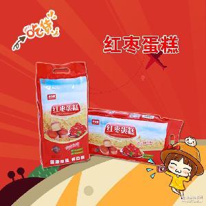 新品 大红枣糕饭后休闲娱乐食品厂家直销爆款热批302g健康