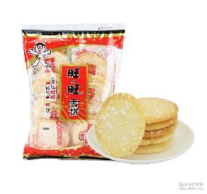 旺旺雪米饼零售休闲食品 散装整箱批发 膨化食品旺旺雪饼