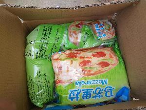 进口百吉福披萨奶酪丝 马苏里拉芝士碎3KG*4袋/箱 烘焙原材料批发