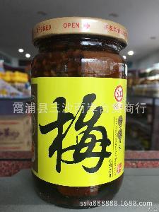 台湾商品 江记梅子豆腐乳380g