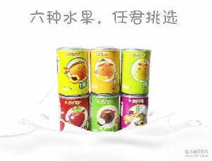 奇乐果园水果罐头精选优质水果爽滑多汁 水果罐头批发微商批发