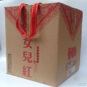 三年陳紹興女兒紅瓷壇5KG裝協助發物流易碎品不包郵濟南市區免費