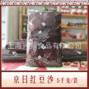 【京日系列】京日紅豆沙-大包裝紅豆沙5KG/包-面包中西點烘焙原料