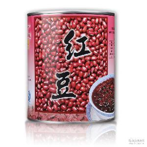绿豆 名忠红豆 即食红豆罐头 红豆 3.35kg罐装