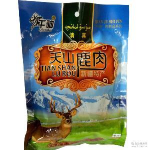 新疆特產清真鹿肉天山鹿肉218g肉類熟食真空包裝開袋即食美味特色