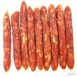 批发广东腊肠广式风味香肠散装称重农家腊味腊肉