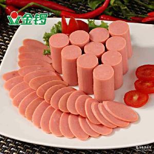 香肠肉类零食小吃 配方便面吃 金锣 无淀粉王中王火腿肠40g*10支