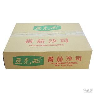 亚克西番茄沙司小包装调味品袋装餐饮调料番茄酱厂家批发10g*600