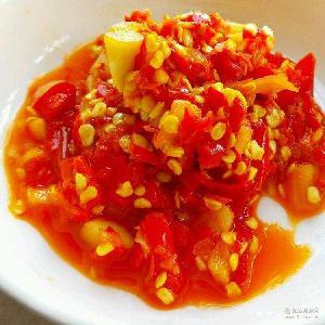 精品剁辣椒 酒店专用鱼头剁椒样品专拍 调味辣椒酱