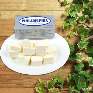 澳大利亞原裝進口烘焙原料蛋糕忌廉卡夫菲利奶油芝士250g*24盒/箱