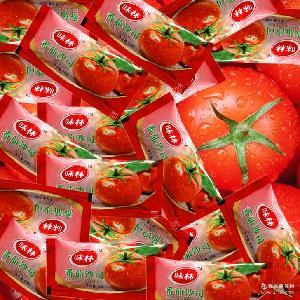 味林番茄沙司 10克*300包小包番茄酱 百利沙司薯条酱寿司酱料