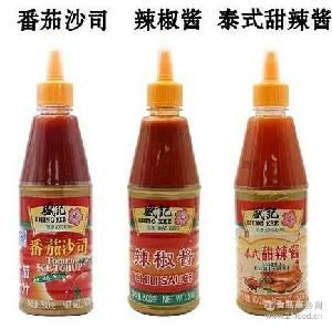 盛记泰式甜辣酱 盛记番茄沙司500克整箱批发 香港盛记辣椒酱