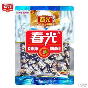 海南特产 春光椰子糖550g特制椰子糖袋装喜糖年货休闲糖果批发