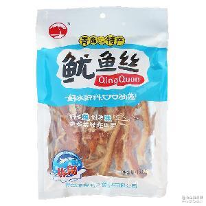 青岛特产小吃批发 休闲零食手撕鱿鱼丝 厂家特价 休闲海产品批发