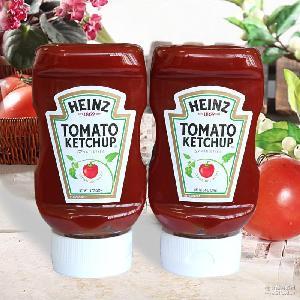番茄沙司 蕃茄酱薯条调味酱料 Heinz亨氏番茄调味酱397g 美国进口