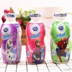 越南版子母儿童酸奶系列 原装进口 80ml*48瓶1箱 LADY DUTCH